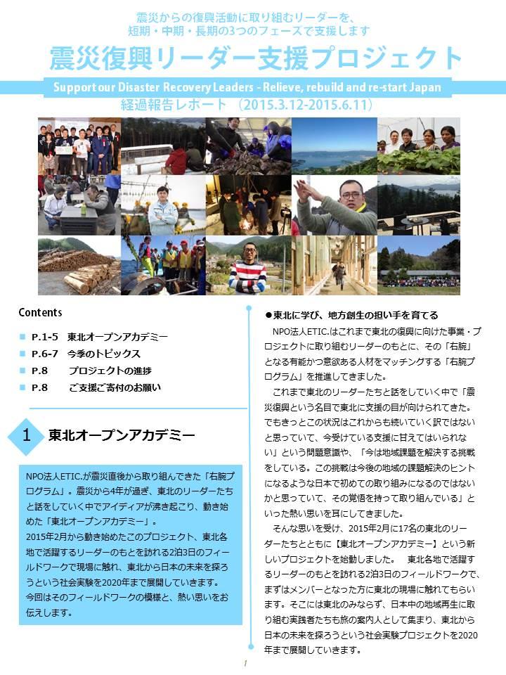 クオータリーレポート vol.19
